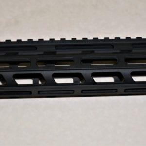 AR15 10'' M-lok Free Float Rail System with Barrel Nut, Black