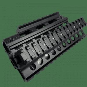 AK-47 Rifle 2 pc Quad Weaver/Picatinny Rail