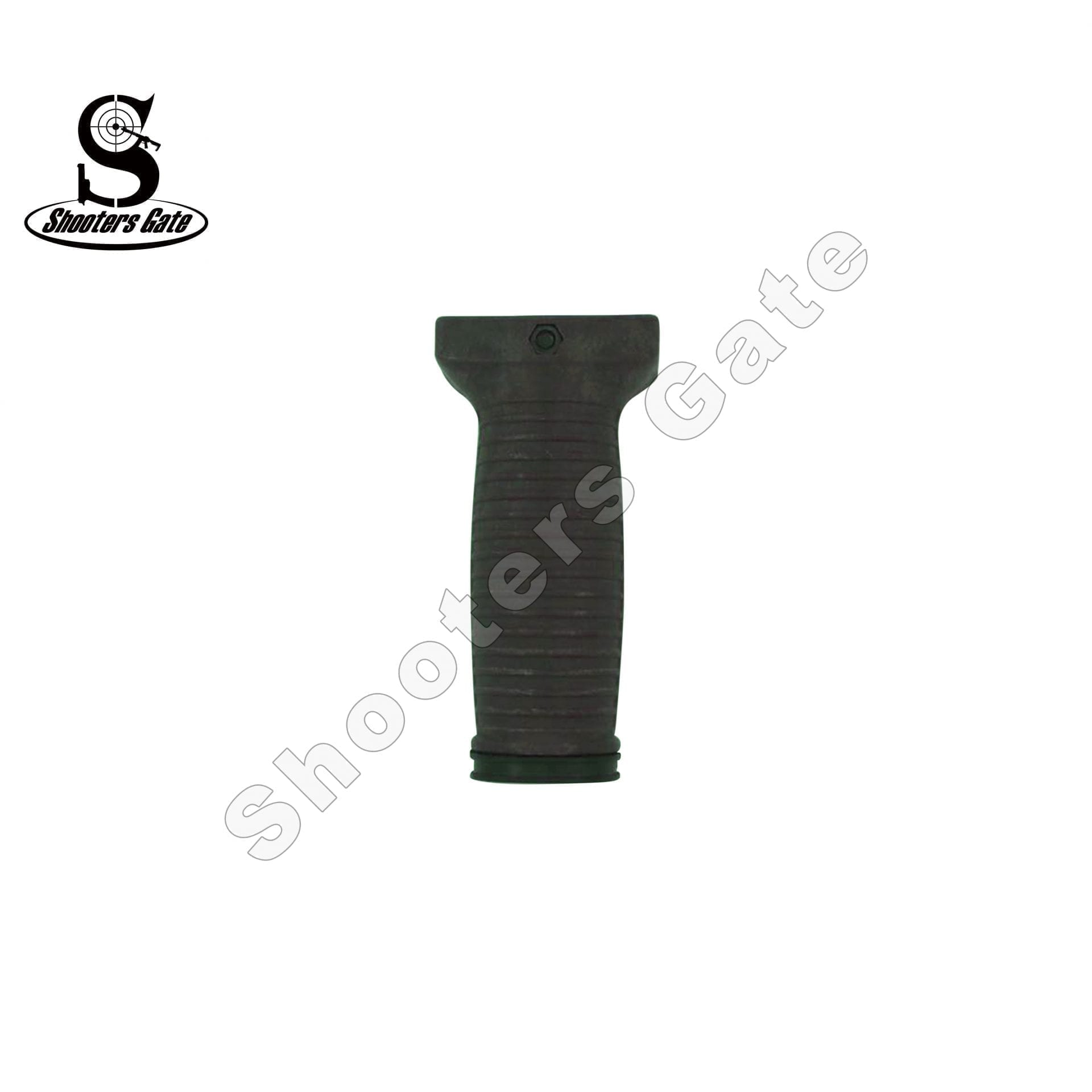 Vertical Rubberized Foregrip Long OD Green