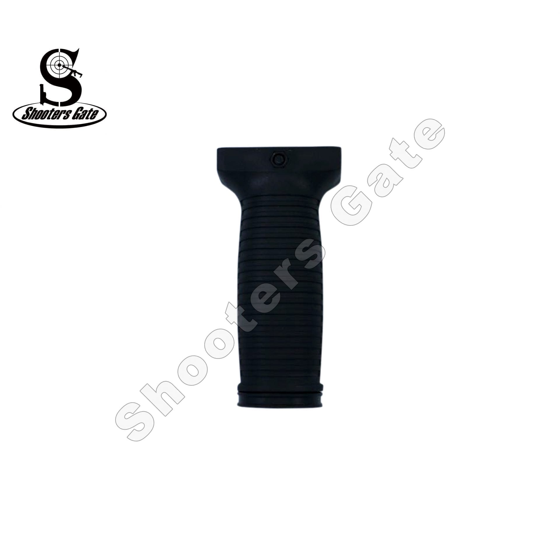 Vertical Rubberized Foregrip Long BLK