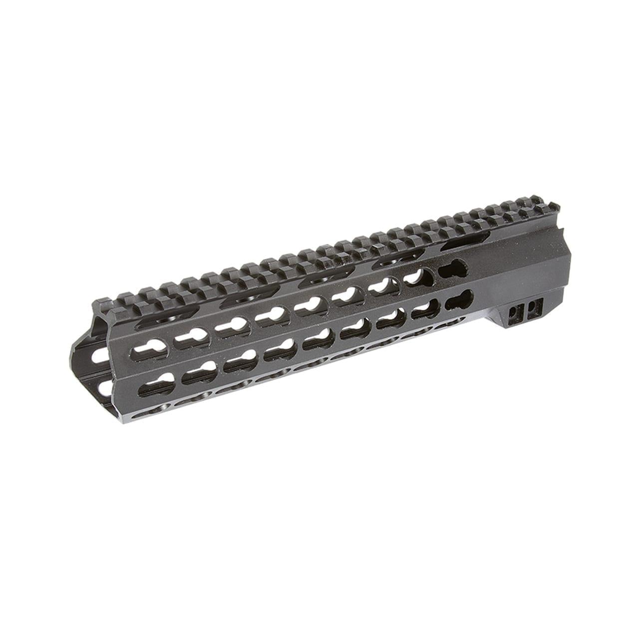 AR15 10'' Keymod Free Float Rail System with Steel Barrel Nut