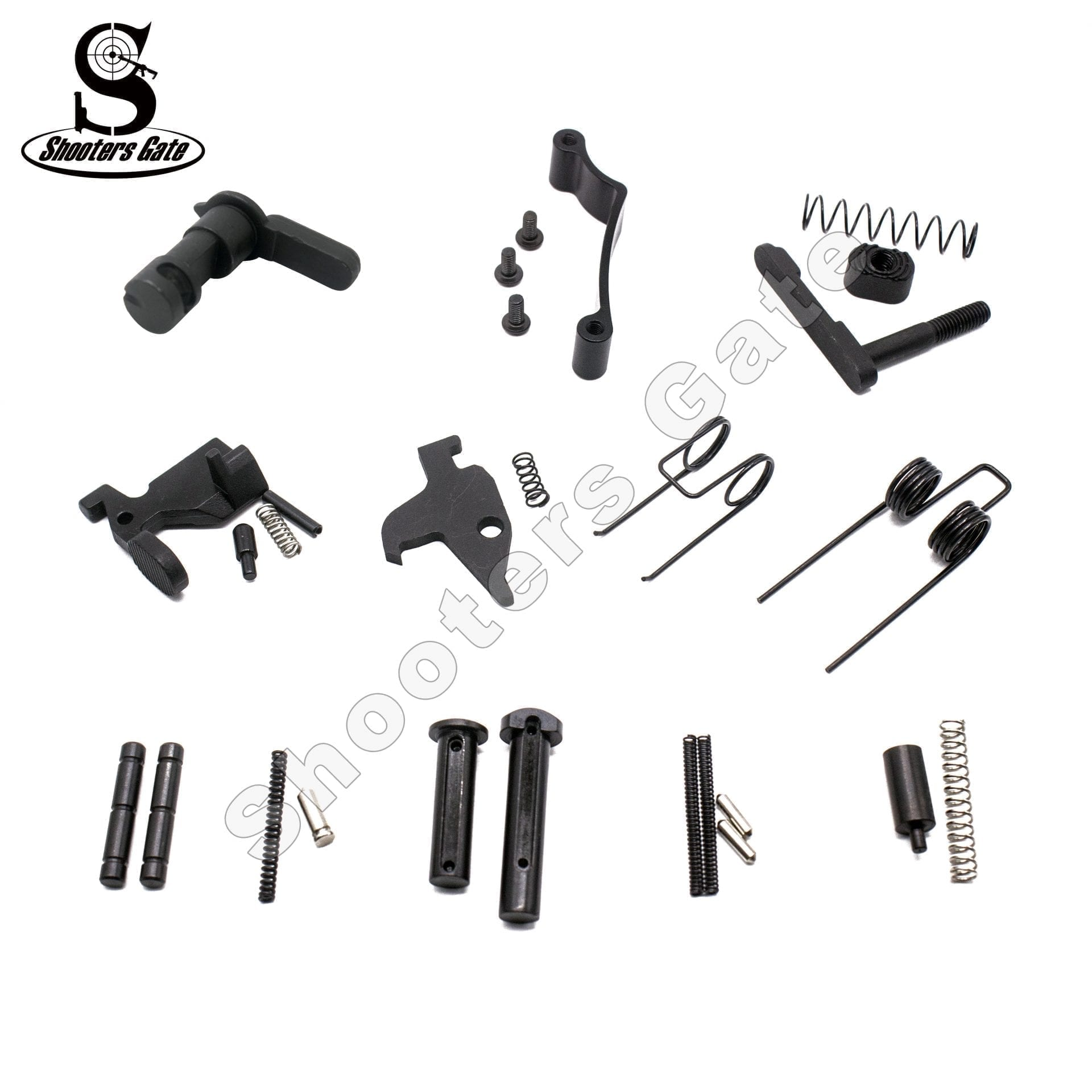 AR 15 33PCS LOWER PARTS KIT EXCEPT TRIGGER, HAMMER AND GRIP