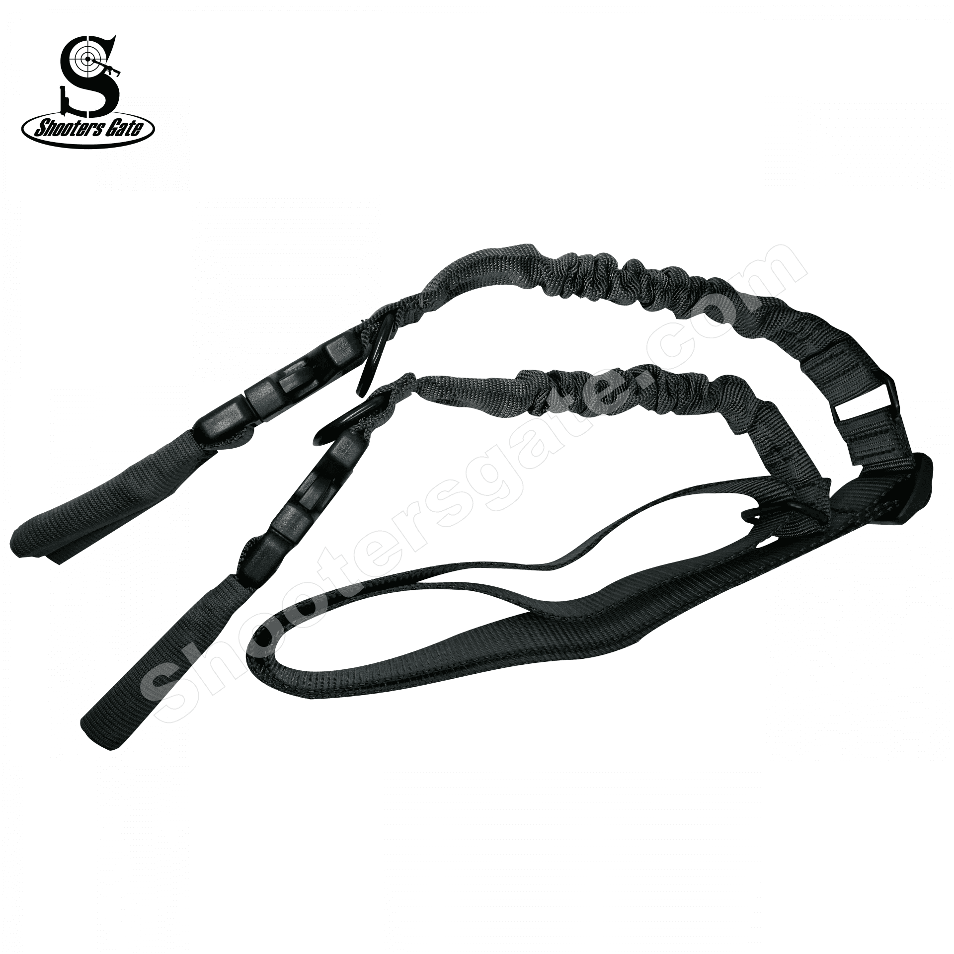 Shootersgate PRO QD Single/Double Point  Bungee Sling - GREY