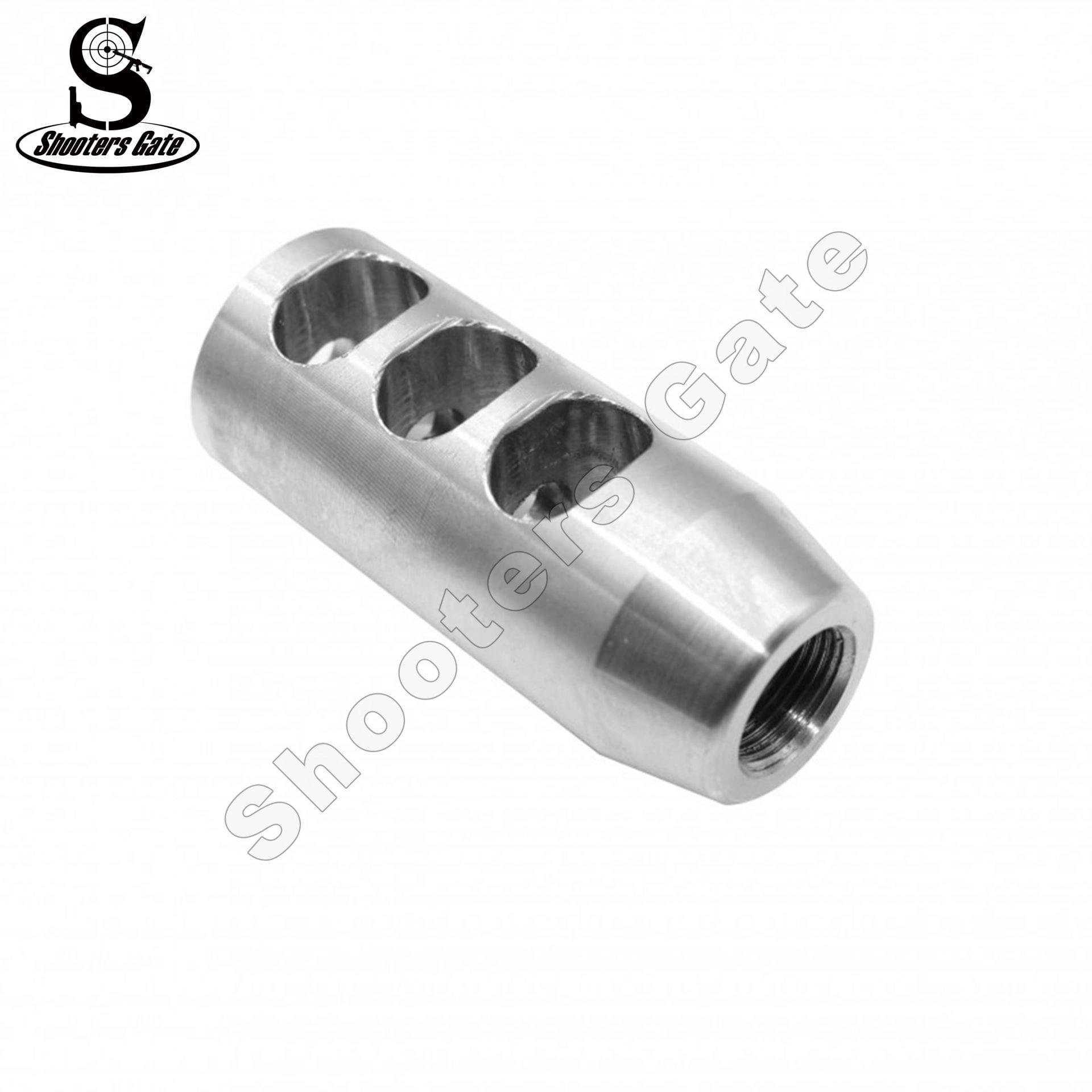 AR15/M4 .223/5.56 Muzzle Break 1/2x28 Thread, S.S.
