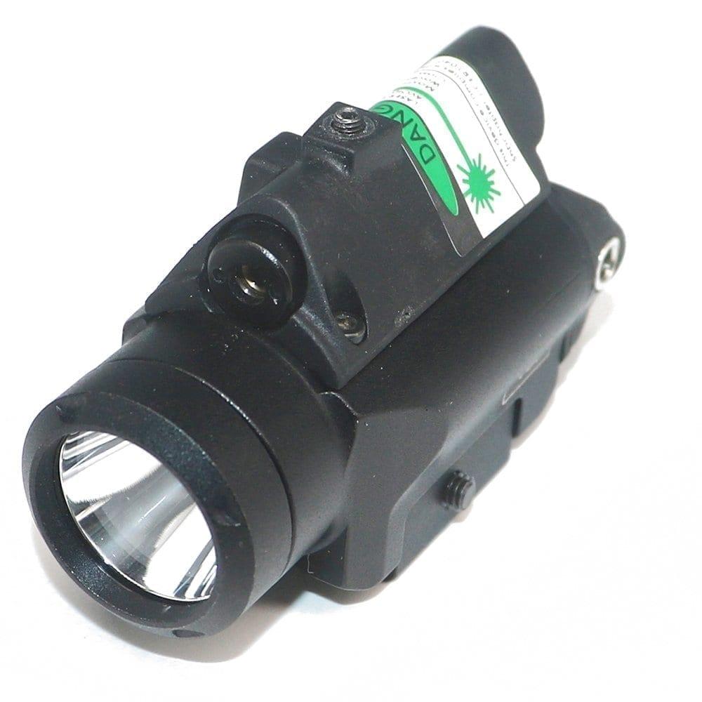 Fullsize Green Pistol Laser/Light Combo