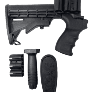 Collapsable Stock Mossburg 500/590 12GA with Pistol Grip