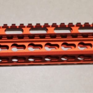 "AR15 15"" Keymod Free Float Rail System with Barrel Nut, Red"