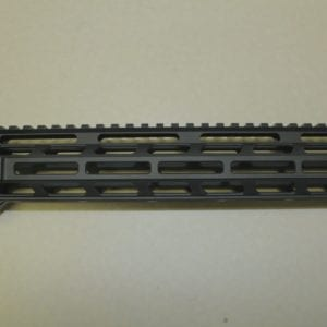 AR15 12'' M-lok Free Float Rail System with Barrel Nut, Black