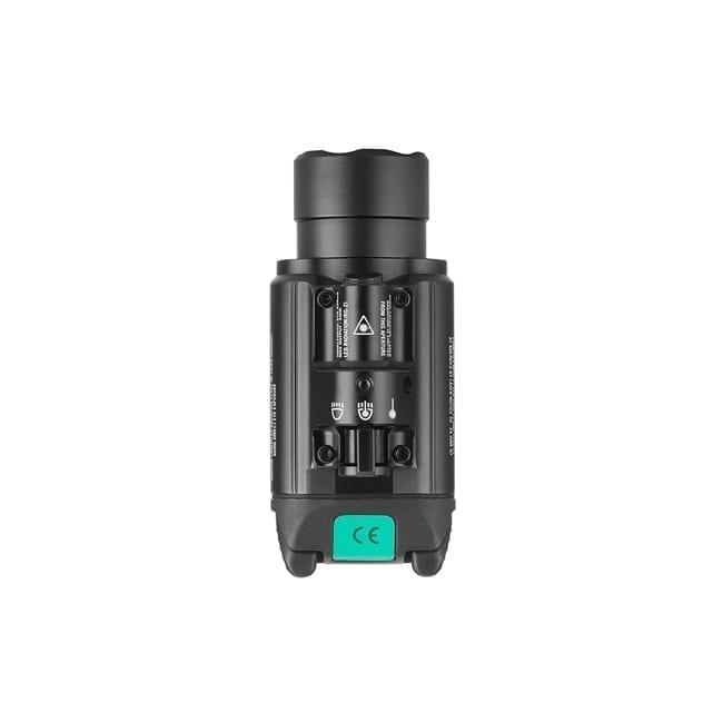 Olight Green Laser Light Combo, 1350 Lumen, Quick Release, Strobe