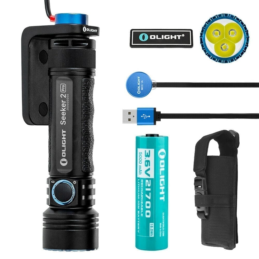 olight 3200 lumen, strobe and rechargeable