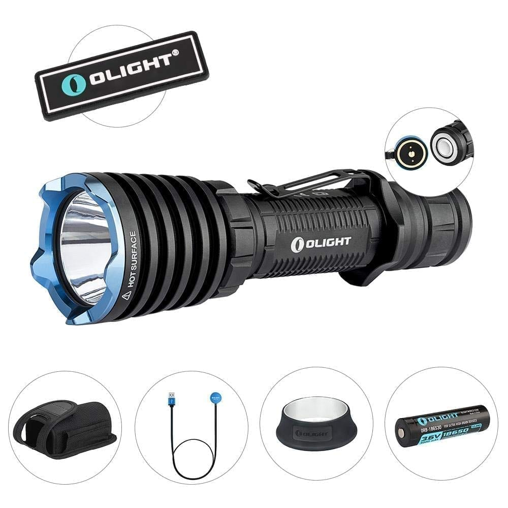 Olight 2250 warrior X pro rechargeable