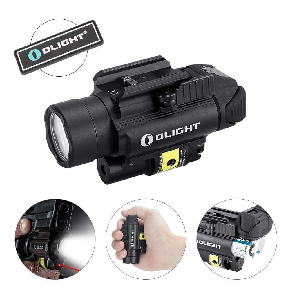 Olight PL-2 RL 1200 lumens Baldr Pistol Light with Laser CREE XHP35 HI