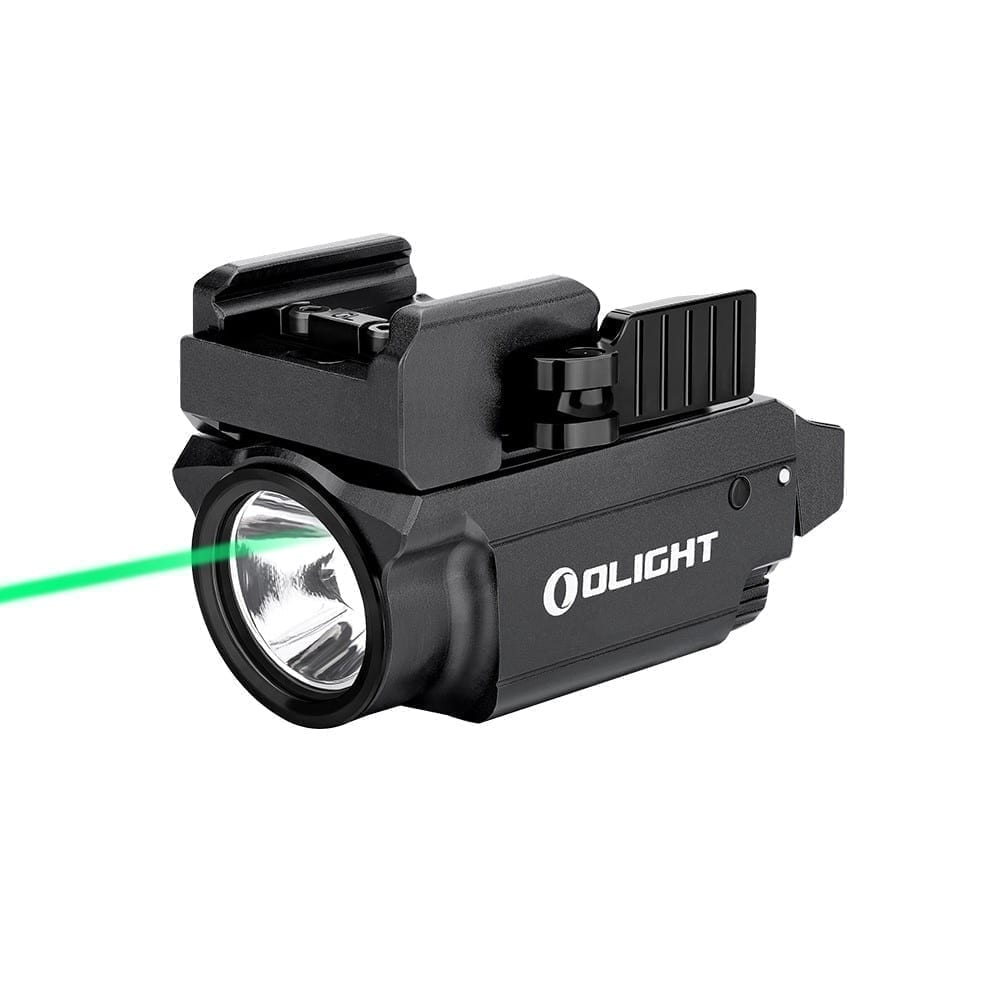 Olight Baldr Mini Subcompact Green Laser/Light Combo 600 Lumen Black
