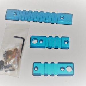 Blue Keymod Rail Adapter Pack